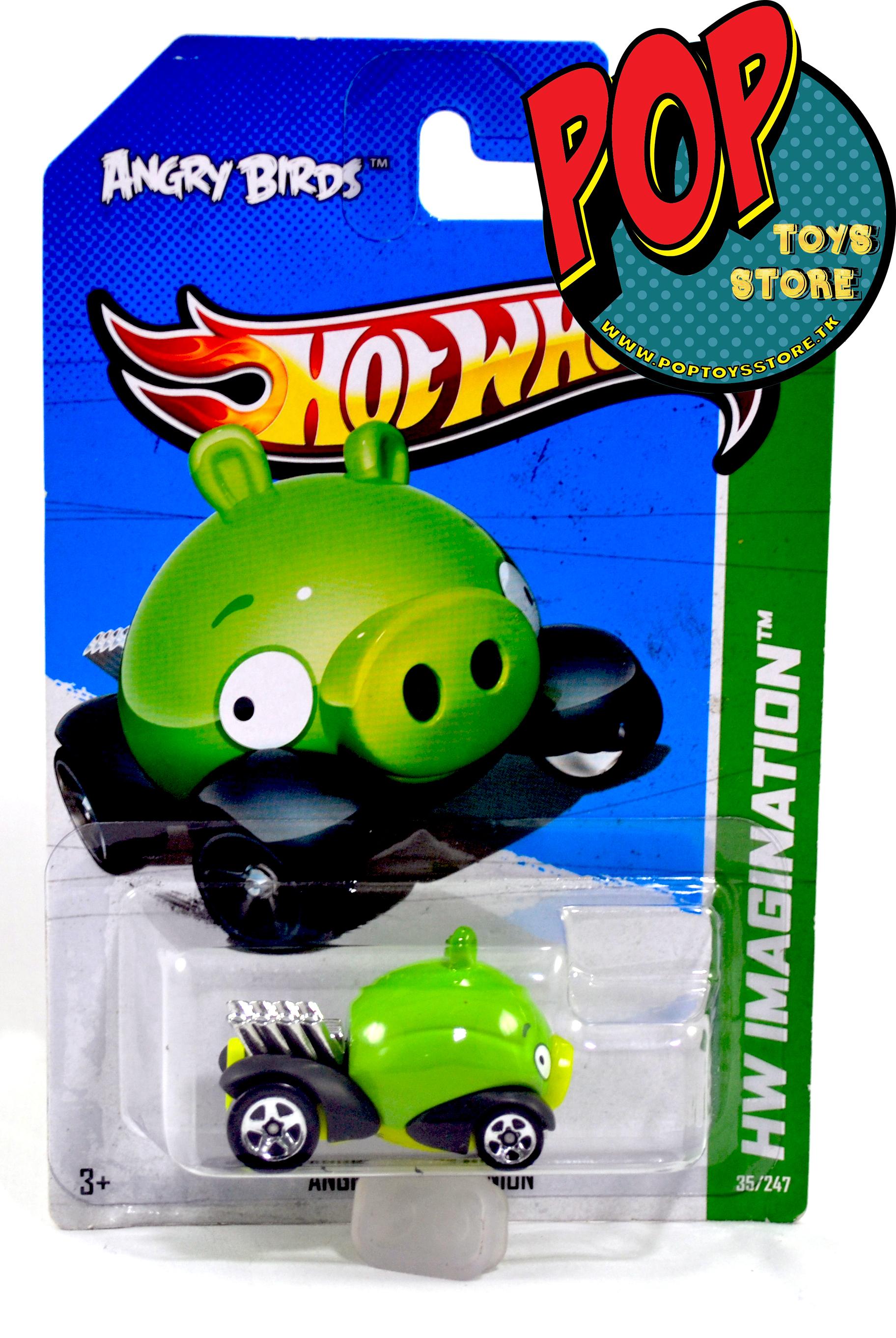 hotwheels - angry birds - pig