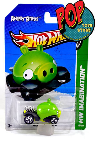 Hotwheels Angry Birds Pig