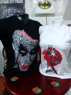 camiseta y esqueleto