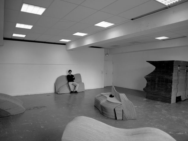 Installation sonore design de mobilier M