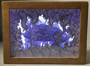 Paper Light Box #3 Emilien Dodeman