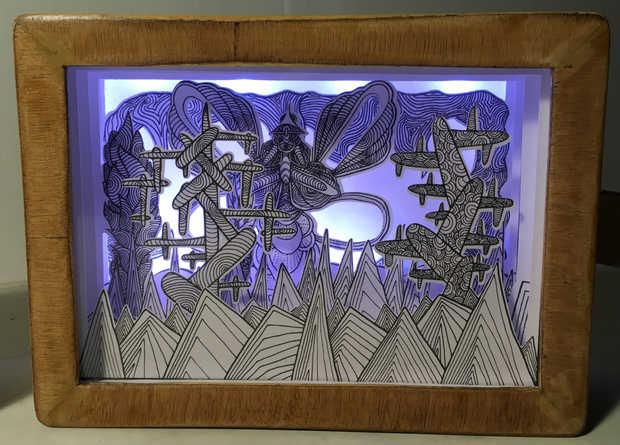 Paper Light Box #1 Emilien Dodeman