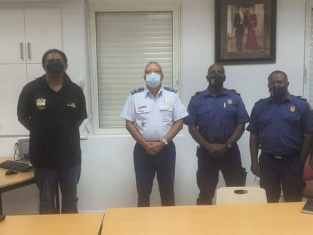 SCDF meets with Police