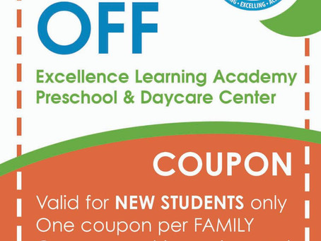 50% off Day Care until October 5th!