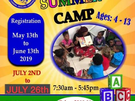 Register for ELA Summer Camp!