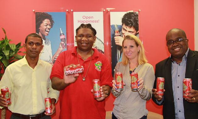 CC1 St  Maarten launches new Coca Cola® Carnival Can label, 2nd year