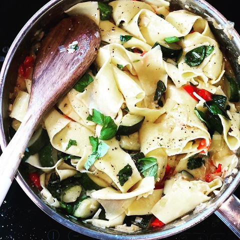 summer pappardelle