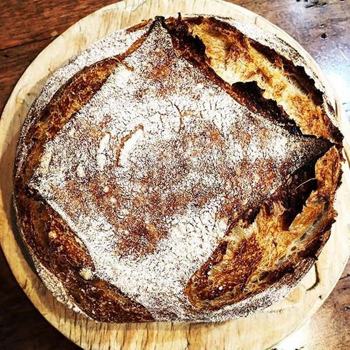 artisinal sourdough bread