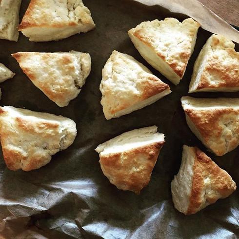 english cream scones