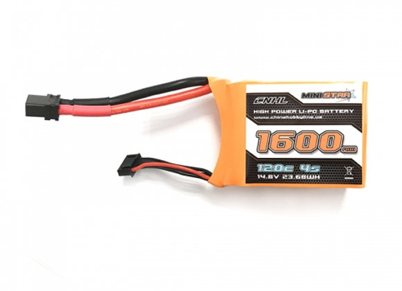 Mini star 1600mah 4s 120c