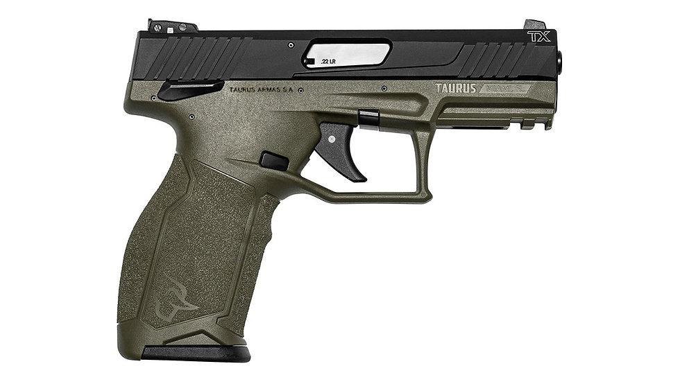 Taurus PT TX22 OD Green
