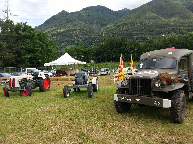 Trattori e Jeep d'epoca