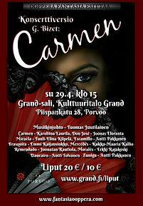 Carmen juliste