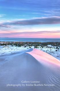 Sand Dune in Sunset (Western Australia)