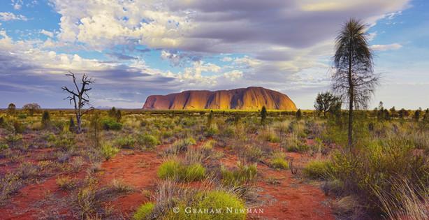 Uluru Light (Northern Territory, Australia)