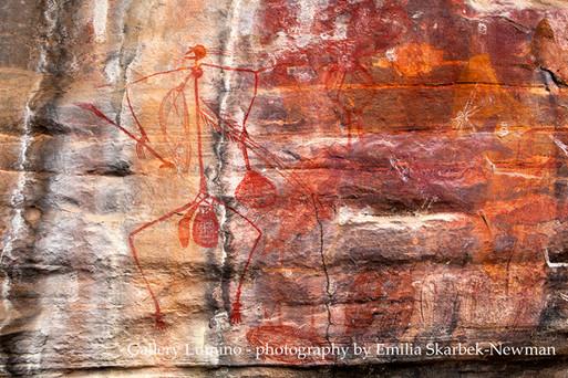 Aboriginal Painting (Kakadu National Park, Australia)