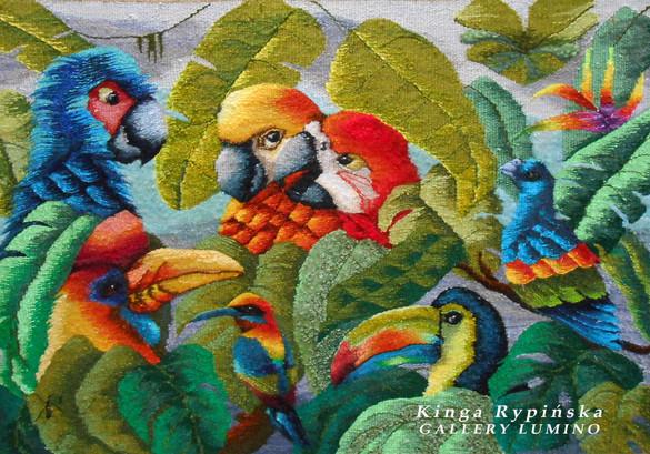 """Eight Birds of Paradise"""