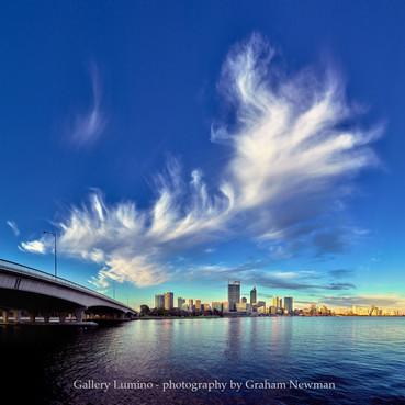 Perth City Skyline (Western Australia)