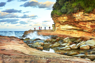 Fishing Avoca Beach (NSW)