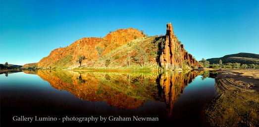 Organ Pipes Reflection (Northern Territory)