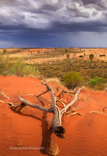 Storm Clouds over the Red Centre (Northern Territory, Australia)
