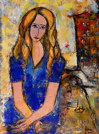 """""""Lady in Blue"""" sold"""