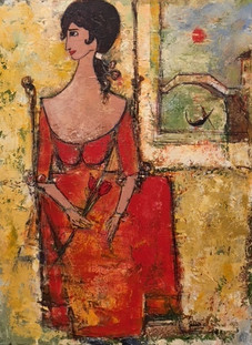"""Lady in Red"" sold"