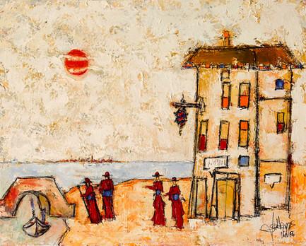 """""""Cardinals Visiting Venice"""""""