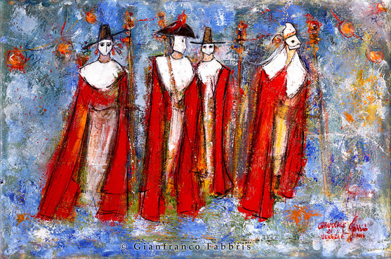 """""""Four Masks in Venice"""" sold"""