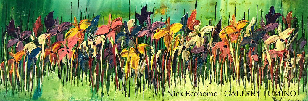 """Mixed Irises"" sold"