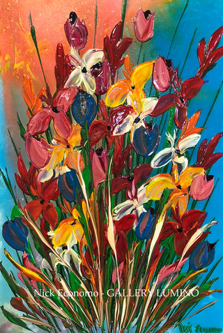 """Mixed Irises & Poppies"" sold"