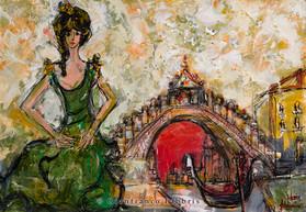 """""""Dancer and Rialto Bridge"""" sold"""