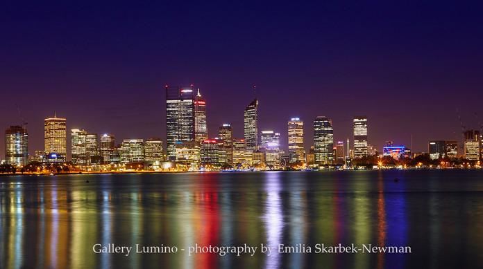 Perth by Night (Western Australia)