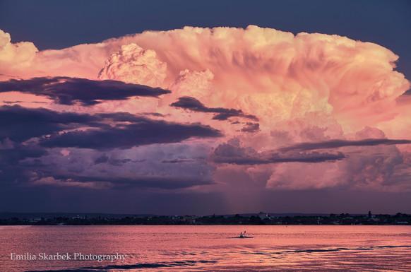 Storm Cloud over Swan River (Perth, Western Australia)