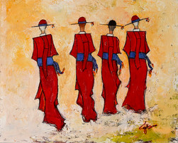 """""""Three Cardinals and One Priest"""" sold"""