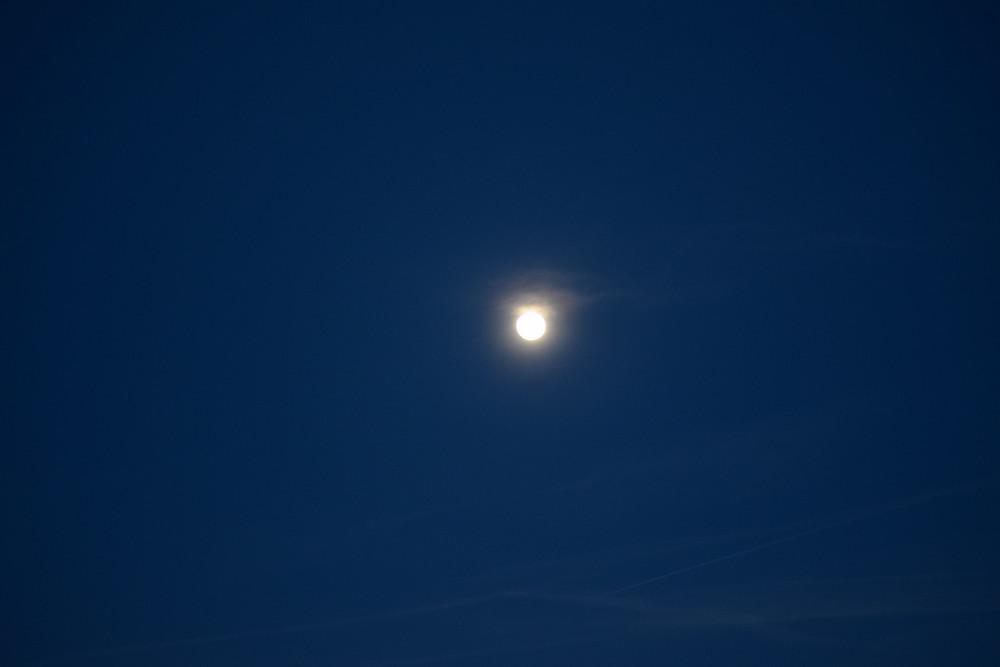 Pleine Lune du 19 février 2019, Montricher