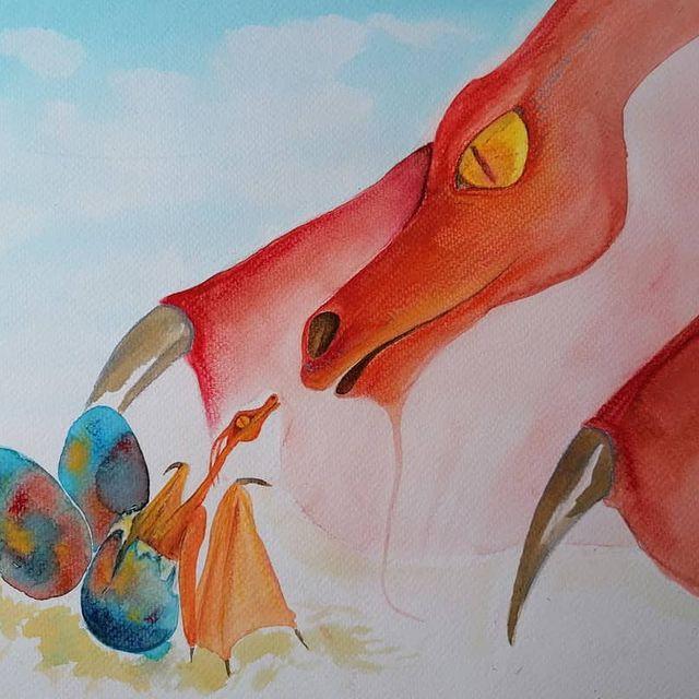 dragon naissance atelier creature conte Planète Indigo