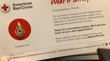 My 8 Gallon Pin, How the American Red Cross Keeps Me Engaged