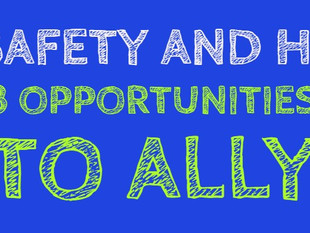 Safety and Human Resources - 3 Great Opportunities to Ally