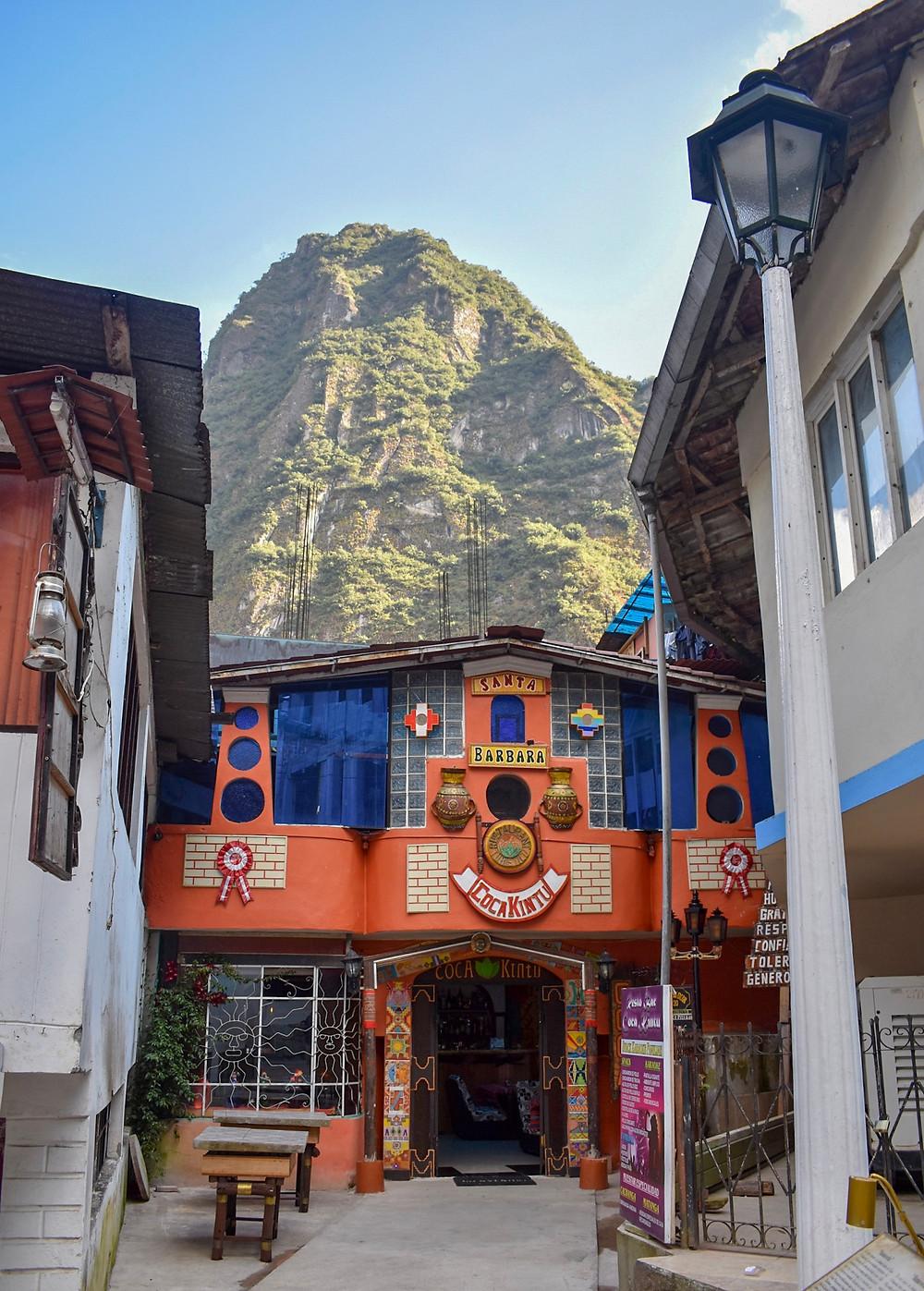 Restaurant in Aguas Calientes Peru