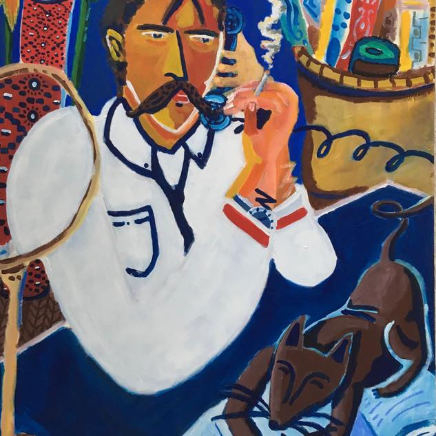 Le vendeur de tapis persans