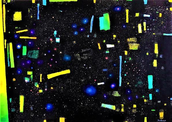Un point dans l'univers