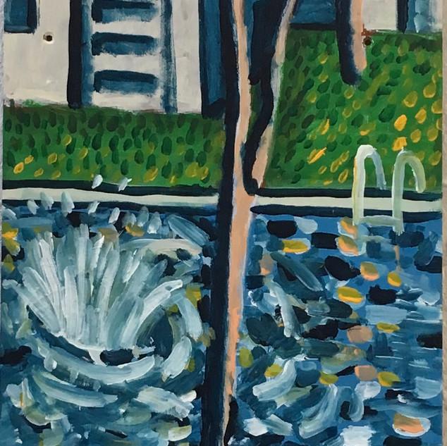 Splash! ode to Hockney