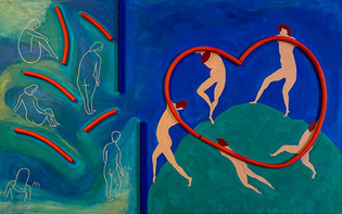 Understanding of Hapinness  – Hommage a Matisse