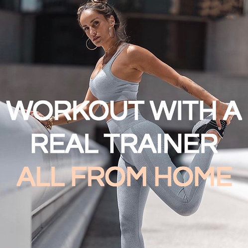 At-Home Online Zoom Workouts - Monthly Subscription