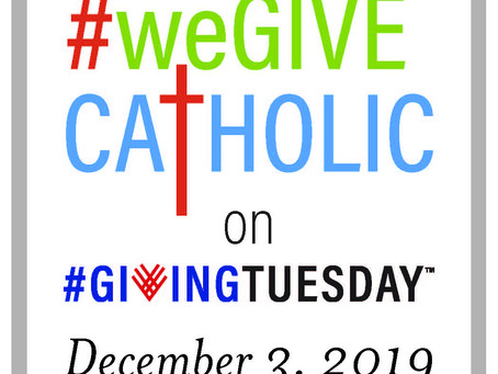 Support a school during #weGiveCatholic