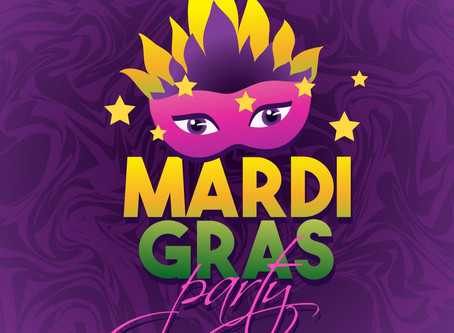 MARDI GRAS PARTY!