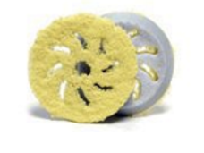Rupes 150 mm (LHR15) Yellow Finishing Microfiber Pad 2 pack
