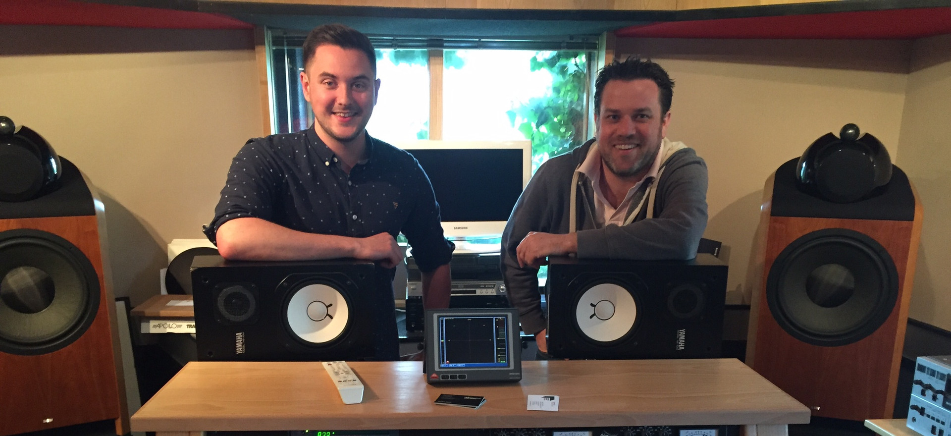 Abbey Rd Studios Mastering Session For Artist Alexander Stewart