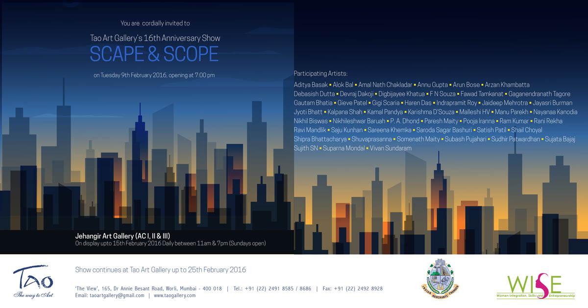 The Scape & Scope - 2016 einvite